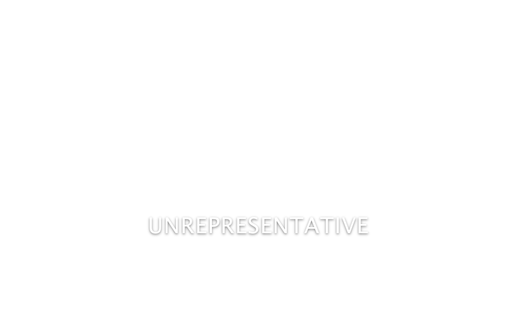 Unrepresentative